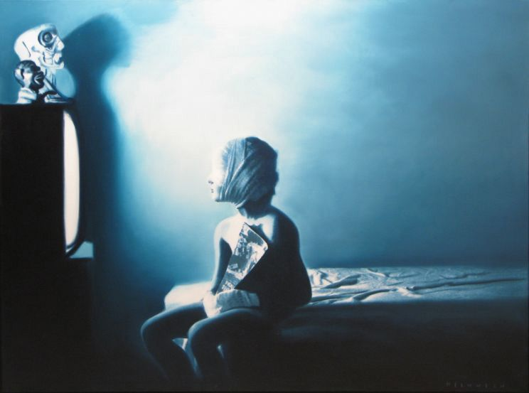 The True Impact of Violence On Childhood? Why Every American Ought To See The Paintings Of Gottfried Helnwein