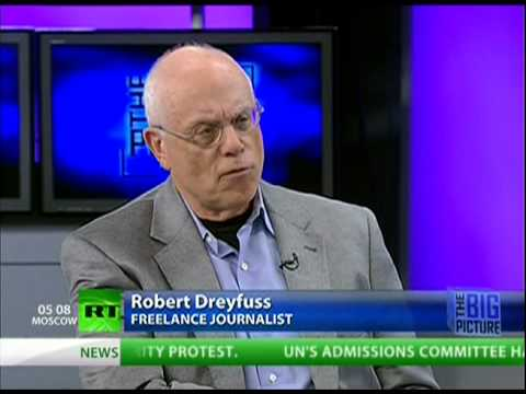 Who is The Nation's Chief Political & National Security Correspondent, Robert Dreyfuss?
