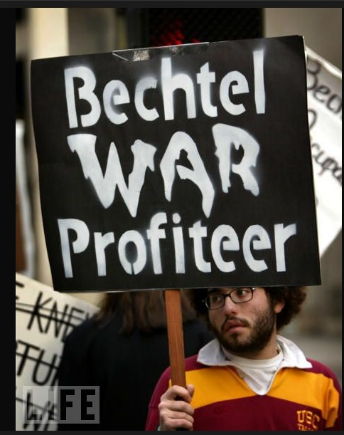 The Bechtel Group: Well-Connected Water Privatizers & War Profiteers