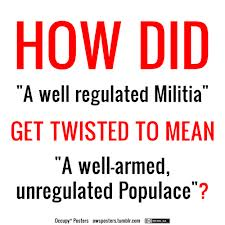 """A WELL REGULATED MILITIA"": THE SECOND AMENDMENT IN HISTORICAL PERSPECTIVE"