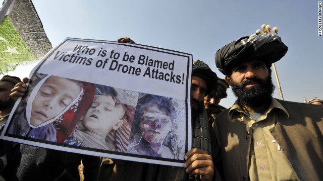 Drone Strikes Violate Pak Sovereignty: UN