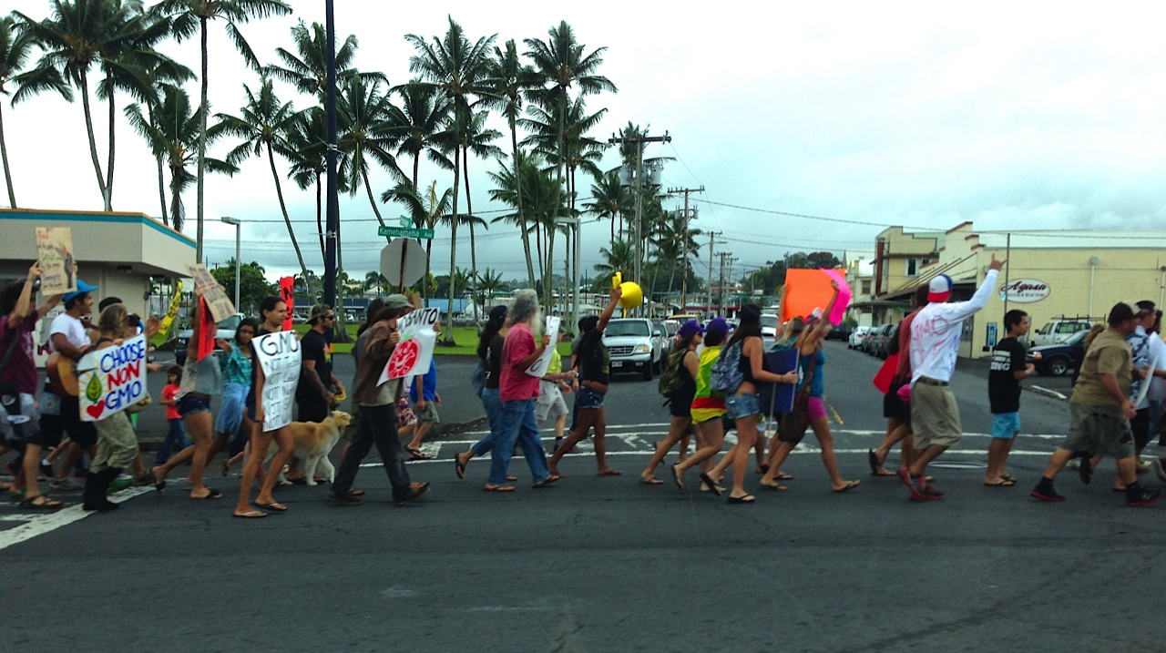 Honolulu: 'March to Evict Monsanto' Sees Large Turnout
