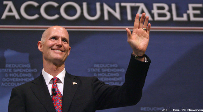 Is Fla. Governor Rick Scott Covering Up GOP Voter Registration Fraud?