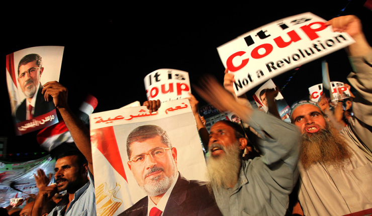 Egyptians will Deal with the Crisis Sans 'CIA Puppets'