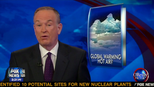 Fox News Found to be a Major Driving Force Behind Global Warming Denial