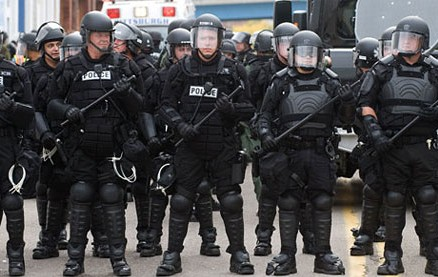The Military Grip on US Policing