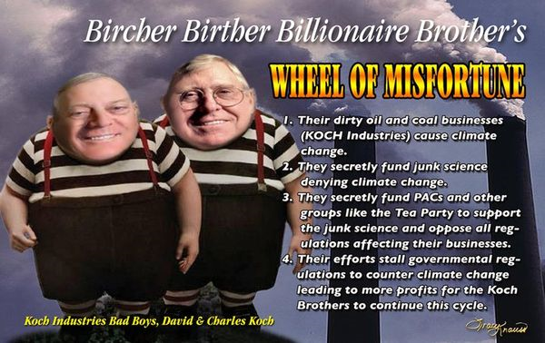Koch Brothers Fascism Threatens American Way of Life