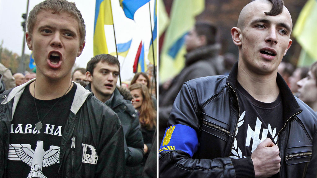 Virulently Anti-Semitic Fascist Group at Heart of Ukraine Protests Meets with John McCain