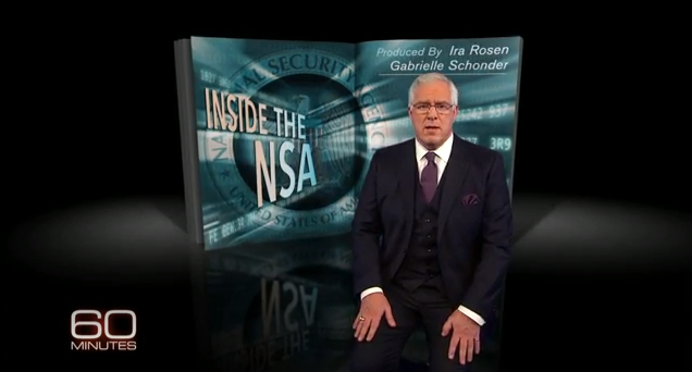 """60 Minutes"" Acts as The NSA's Propaganda Bureau"