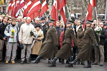 Ceremonies Honor Latvian Nazi Collaborators