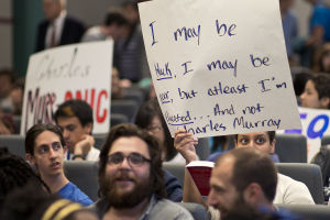 "Charles ""Bell Curve"" Murray Talk Sparks Rice U. Student, Faculty Protests"