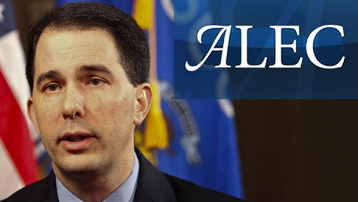 ALEC and Scott Walker's Race War in Wisconsin