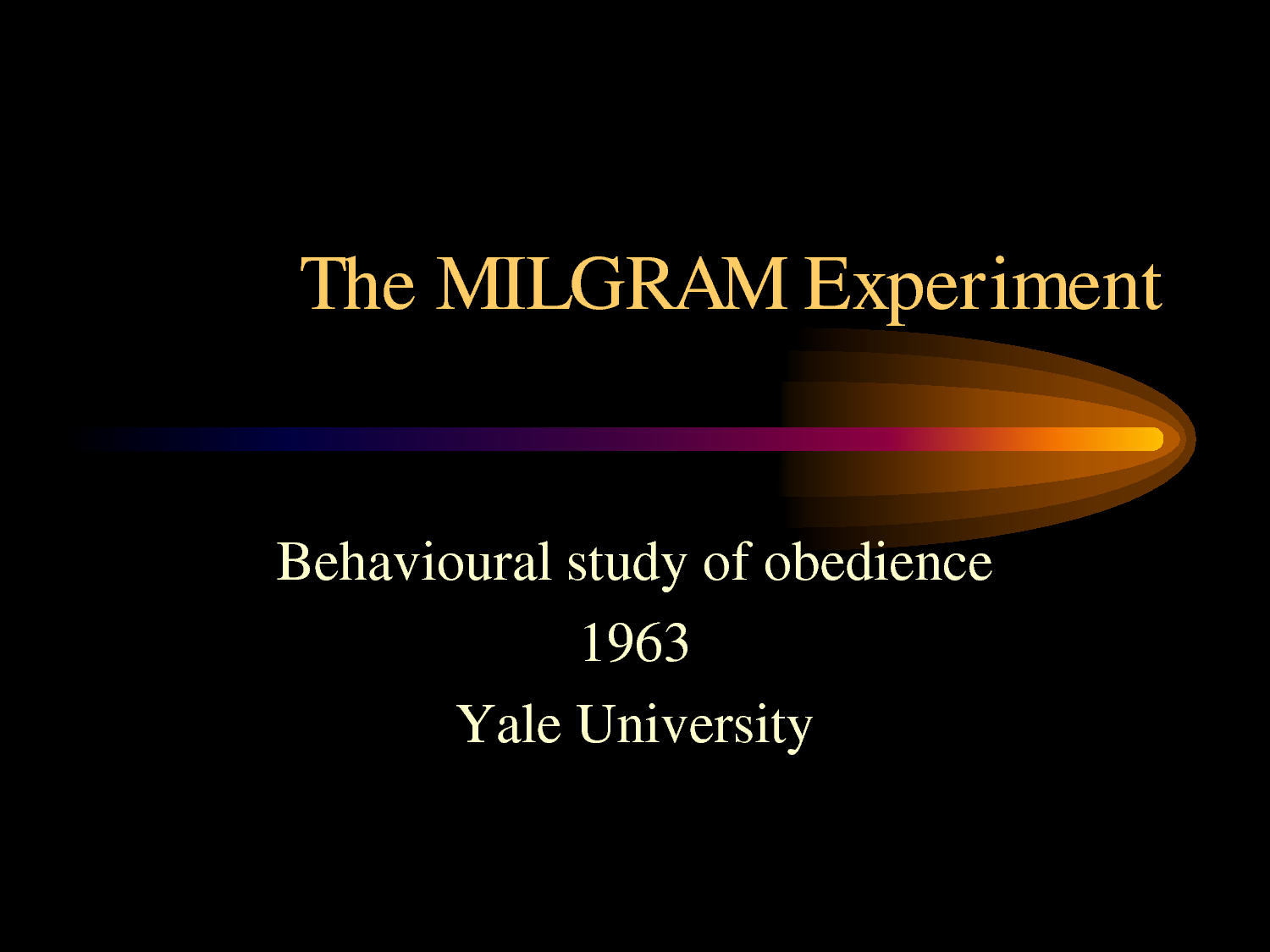 Modified Milgram Experiment Finds Leftists Less Inclined to Follow ...