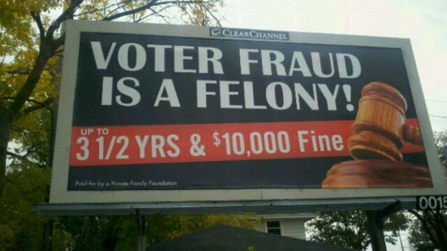 WISCONSIN FINALLY FINDS VOTER FRAUD — BY A REPUBLICAN DONOR