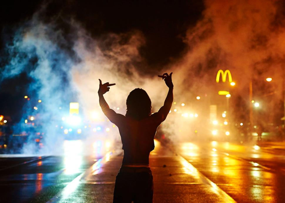 Agent Provocateurs? 'Revolutionary' Whites Try to Incite Unarmed Crowd in Ferguson, Mo.