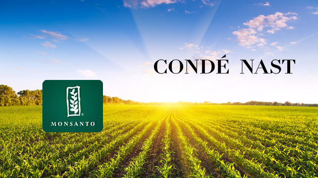 Monsanto Partners with Media Conglomerate Condé Nast to Spread its Message