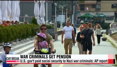 Lawmakers Move to Strip Nazis of Social Security Benefits