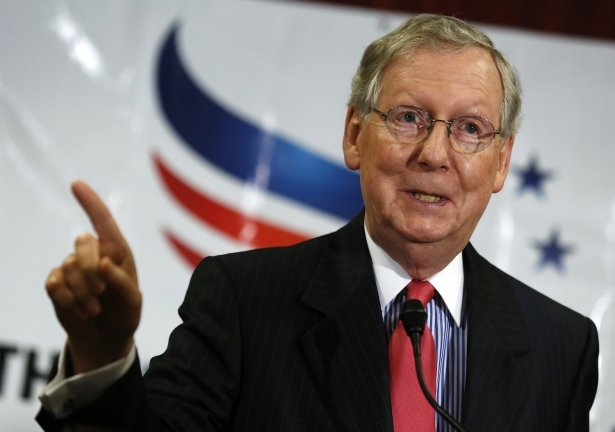 Did Mitch McConnell Fail to Disclose His Trip to the Koch Donor Conference? (The Nation)