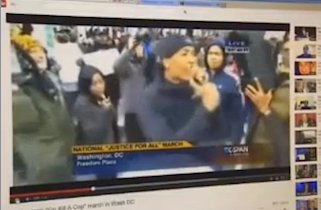 "FOX Affiliate Faked ""Kill a Cop"" Protest Chant"