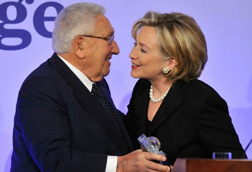 Hillary and Kissinger — Progressives Beware