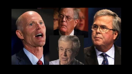 Daily Kos: Koch Brothers, Rick Scott And Jeb Bush Exposed In Florida Pipeline Scandal
