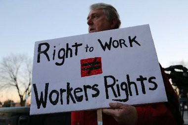 The Right-Wing Money Behind the Right-to-Work Battle