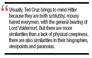 Ted Cruz: Friend to Fascists, Past and Present