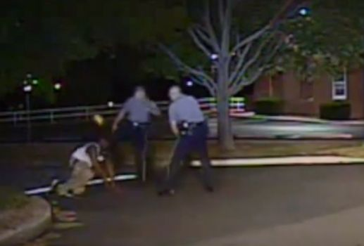 Delaware: Video Shows White Officer Kicking Black Man in Face