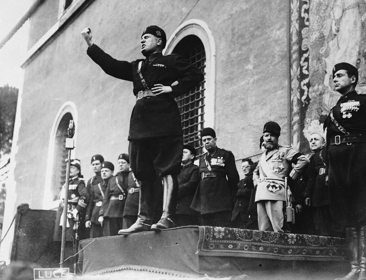 Mussolini's Final Hours, 70 Years Ago