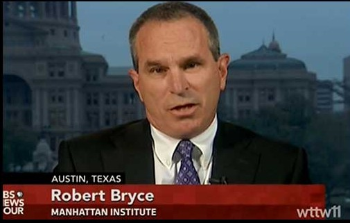 This Bloomberg Contributor Attacking Renewable Energy Is Paid For By Big Oil