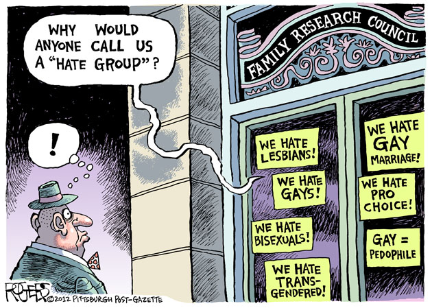 The Family Research Council's History of Hate