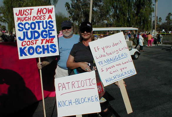 Koch Brothers' Iran Ties and Activist Salaries Show Tea Party's True Face (2011 Article)