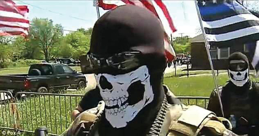 Armed Black Panthers Confront Armed White Militia on Streets of Dallas