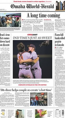 The Omaha World-Herald's Share of ES&S