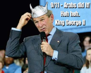 """Wingnuts Denounce """"Tin-Foil Hat"""" Liberals While Embracing Paranoid Conspiracy Theories"""