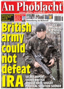 """Operation Banner"": British Army Did Not and Could Not Defeat the IRA"