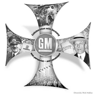 GM and the Nazis: The Inside Story of How General Motors Secretly Mobilized the Third Reich To Conquer Europe (Part One)