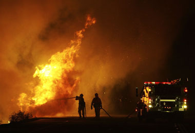 Fire Consumes 30 Acres in Banning, CA – Arson Suspected