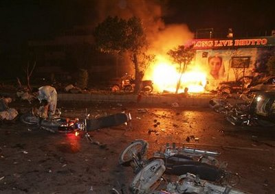 US Accused of Backing Terrorism in Pakistan