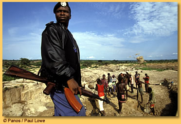 Rebellion and Repression in Angola's Diamond Mines