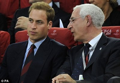 UK: Football Association Chief and the Heir to Mussolini