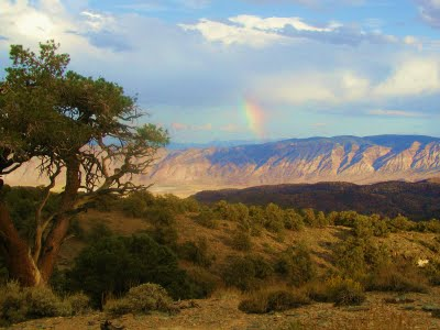 "AC, Nature Boy - ""Rainbow over Deep Springs, CA"""