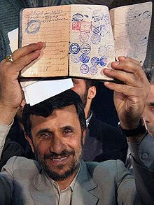 Holocaust Debunker Mahmoud Ahmadinejad is Jewish
