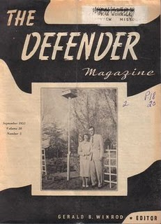 Cancer: Cured! McCarthy: Crucified! Jews: Demonic! Studies in Crap digs up Wichita's The Defender