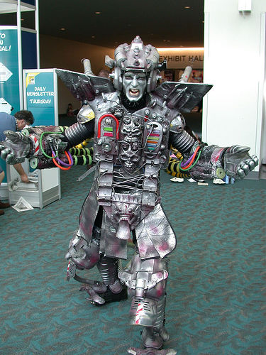 New Role for Robot Warriors