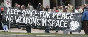 No Weapons in Space (International Days of Protest to Stop the Militarization of Space)