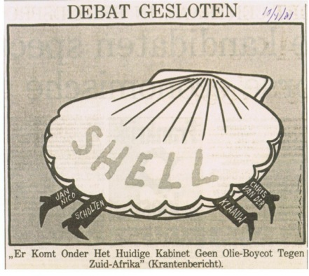 The Neptune Strategy: Shell Propped up Apartheid in South Africa